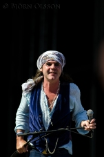 Spike, The Quireboys, Sweden Rock 2013